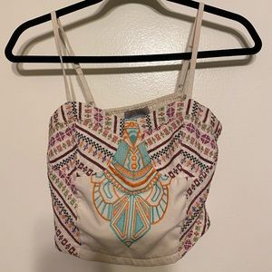 Flying Tomato- Crop Top with straps (detailed)